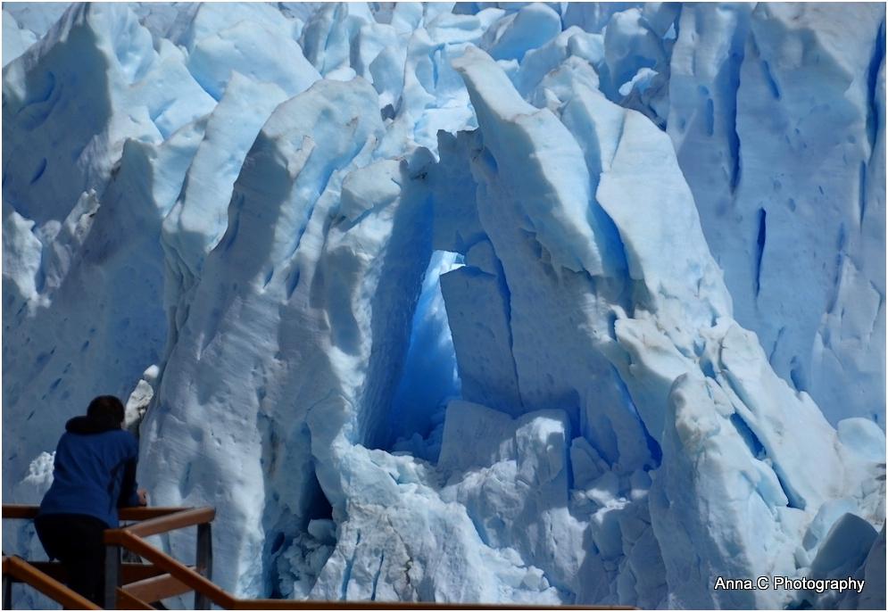 Perito Moreno - contemplation