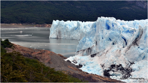 Perito Moreno - le barrage/ the dam