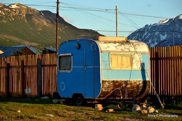 La vieille caravane