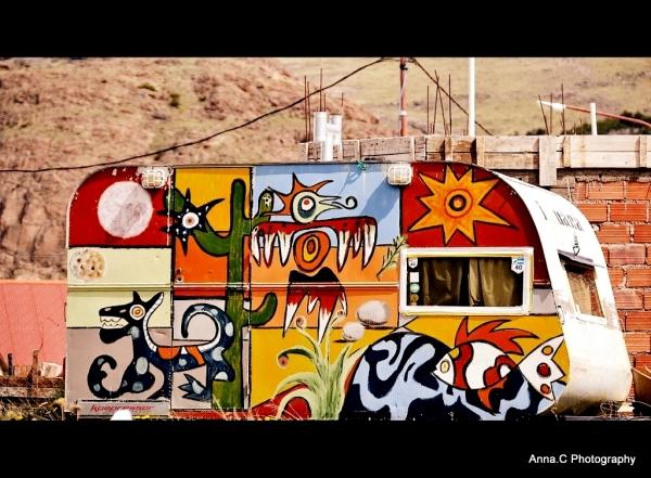 Pop Art Caravane