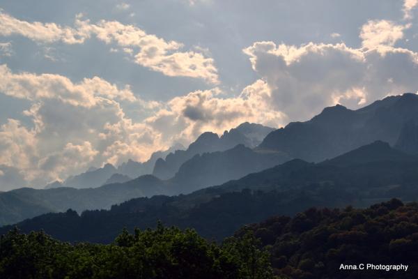 sur la route des Picos de Europa