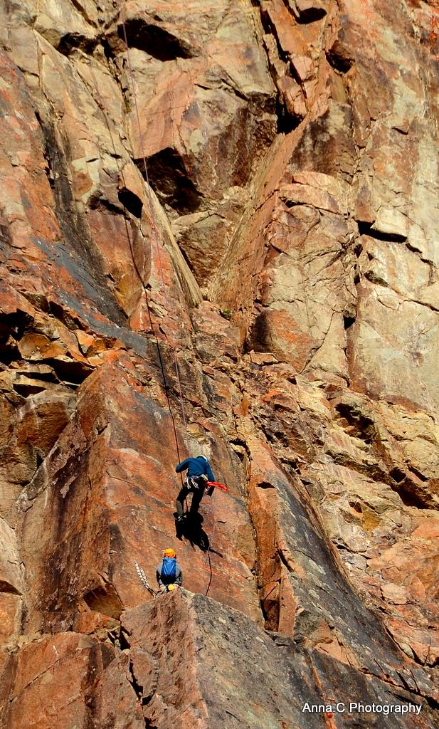 L' escalade / determinés à arriver au sommet