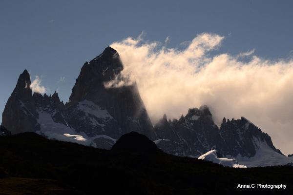 La montagne volcan / The vulcano mountain