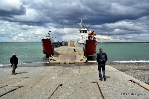 La traversée du détroit de Magellan #7   Le ferry