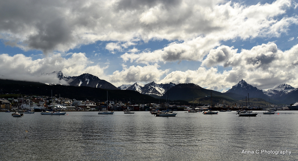 Ushuaia - Fin del Mundo # 3 La baie d'Ushuaia