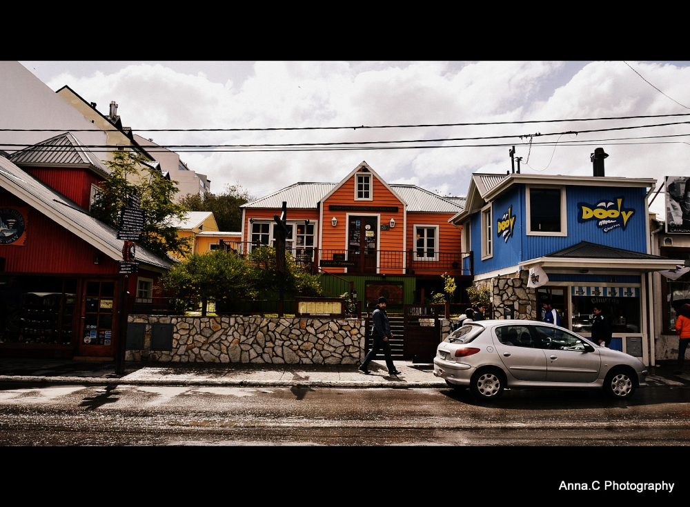 Ushuaia - Fin del Mundo #1O les rues d'Ushuaia