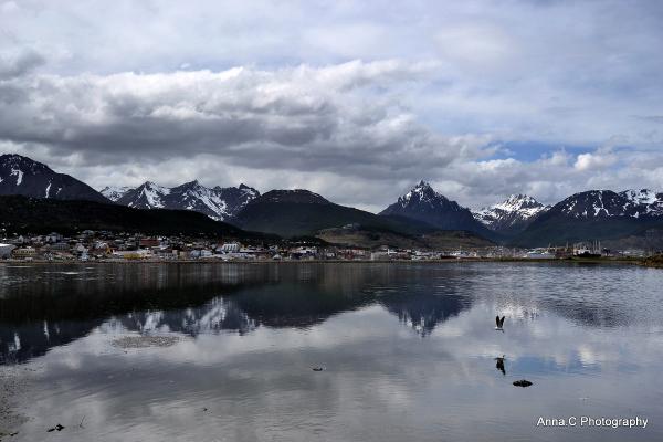 Ushuaia - Fin del Mundo # 14  La baie d'Ushuaia