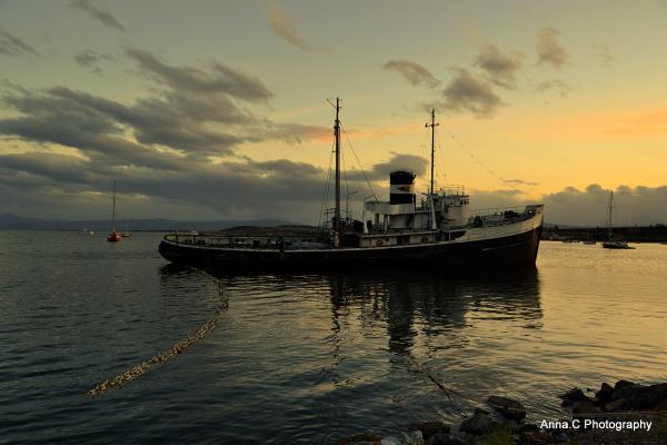 Ushuaia - Fin del Mundo # 19 Sunset in the bay