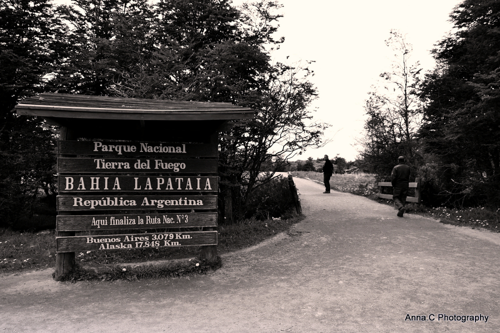 Ushuaia - Fin del Mundo # Baie de Lapataïa