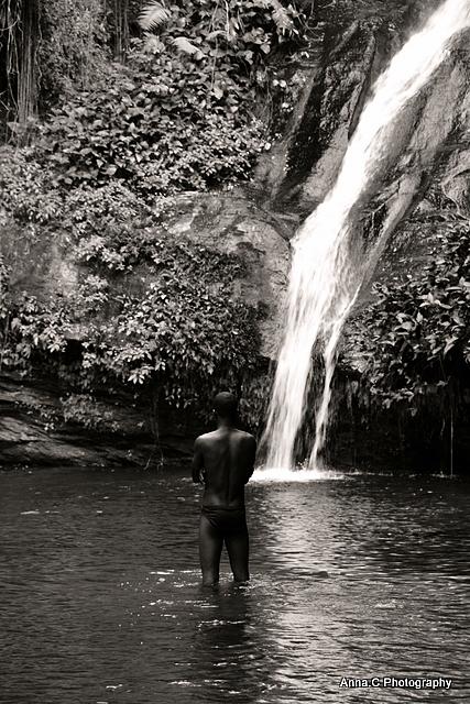 A la cascade de Kpalimé