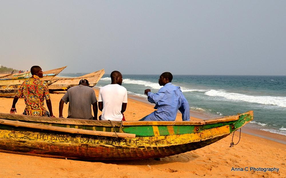 Les pêcheurs de Lomé # 1