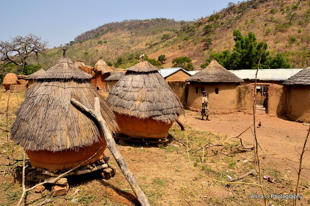Les greniers du village