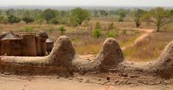 Sur la terrasse du Tata