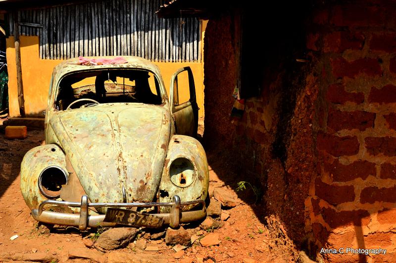 Dans un petit village togolais....