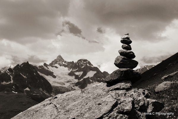 Là-haut sur la montagne