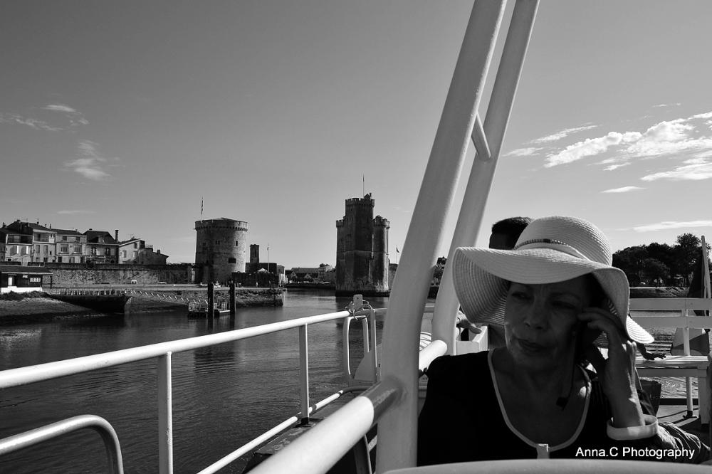 Nous quittons La Rochelle...