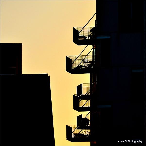 Balcons sur la ville
