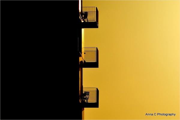 Balcons au soleil