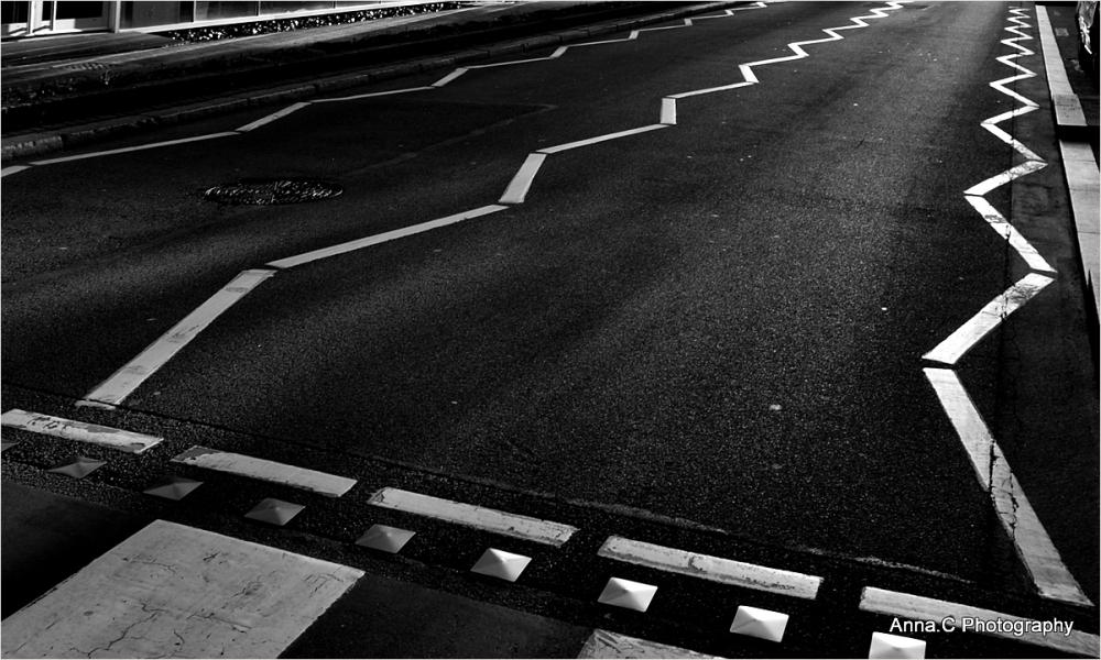 Road marks
