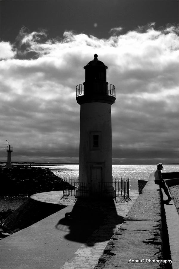 Attente près du phare