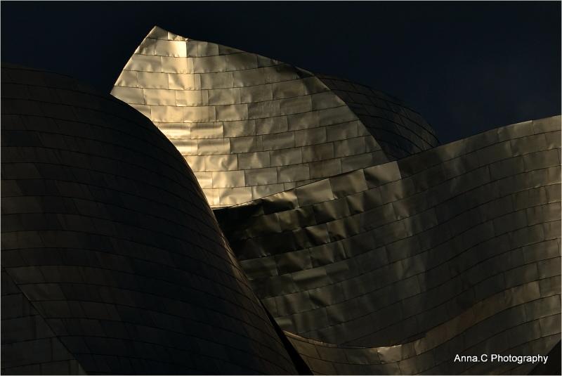 Guggenheim Bilbao # 3 Feuille d'or