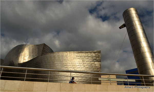 Guggenheim Bilbao # 7 - la cheminée du paquebot