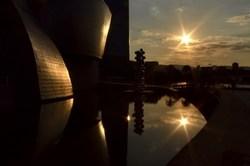 Guggenheim Bilbao # 24 - Sunset