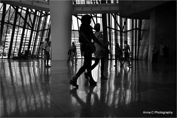 Guggenheim Bilbao # 25 - Visitors**