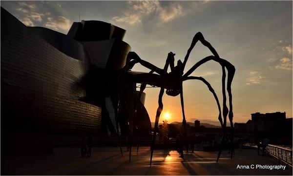 Guggenheim Bilbao # 31 - Araignée du soir, espoir