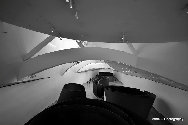 Guggenheim Bilbao # 28 -  Space  time