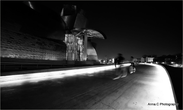 Guggenheim Bilbao # 32 - Bicycles ghosts