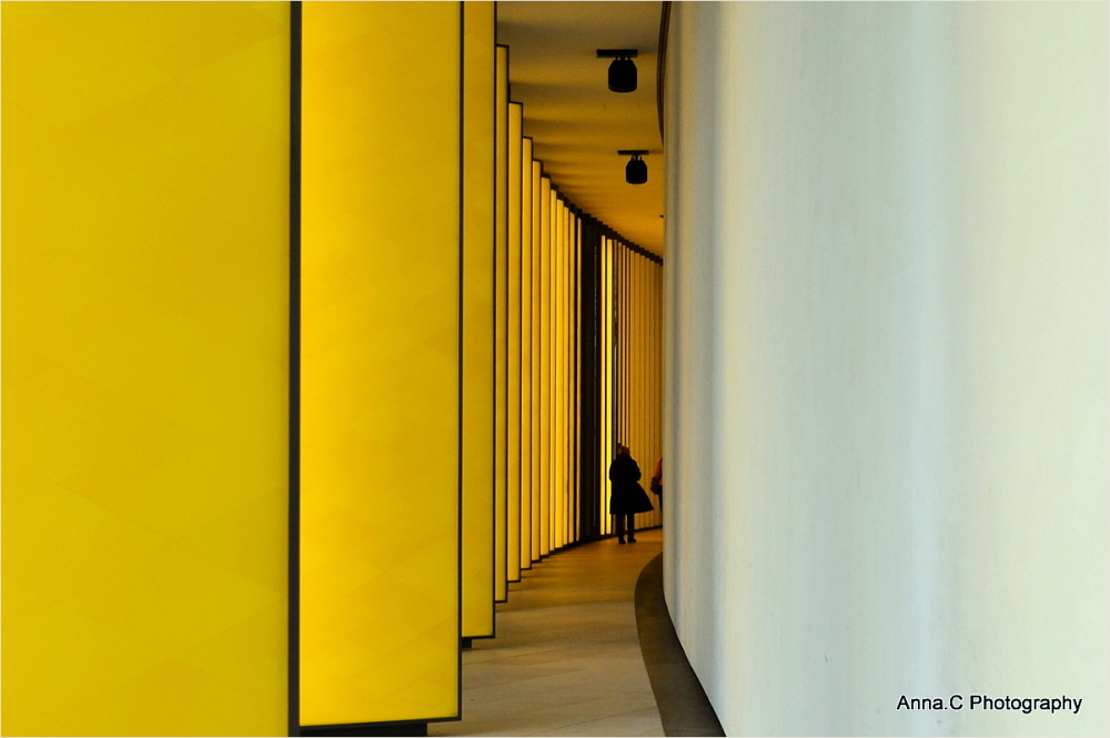in the yellow labyrinth