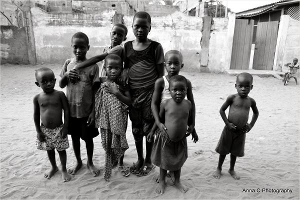 Les enfants de Baguida