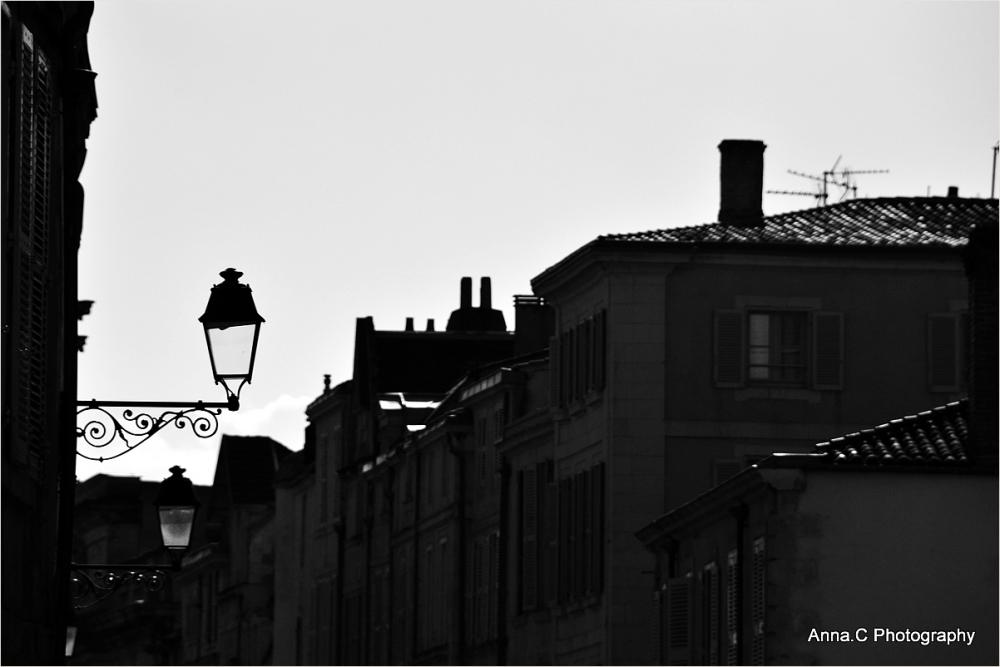 Sur les toits de la ville