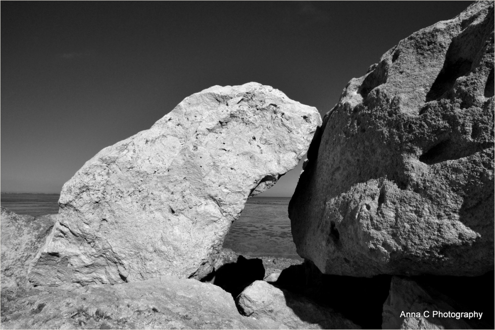 Black and White Rocks