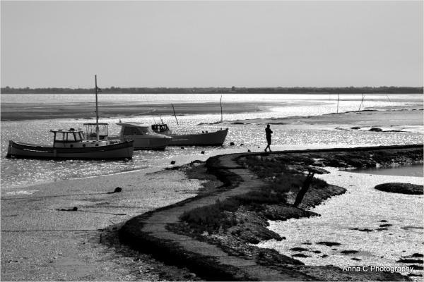 Le chemin en mer