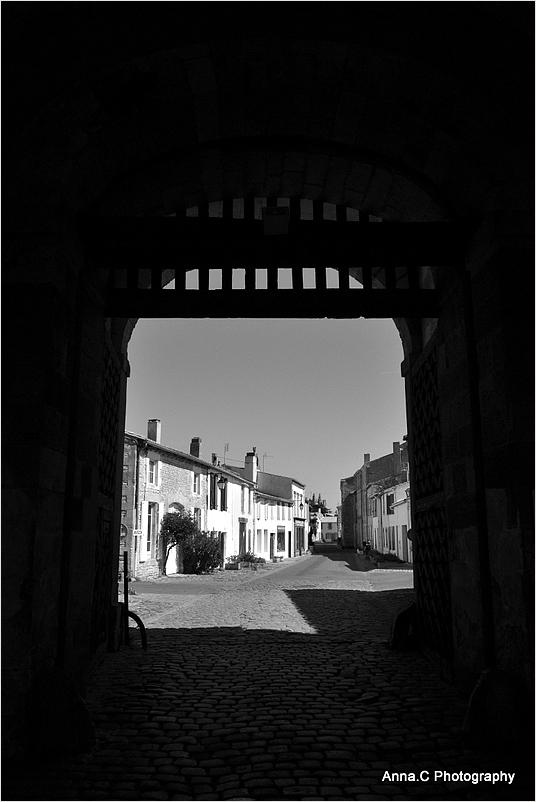 La porte de la ville