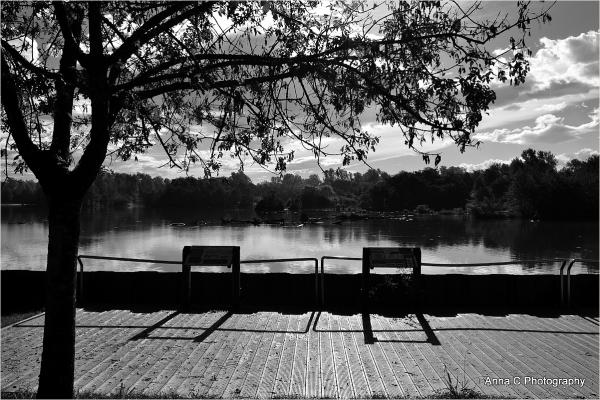 un coin tranquille pour la pêche