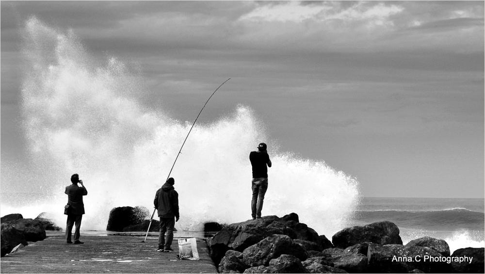 Chasseurs de vagues