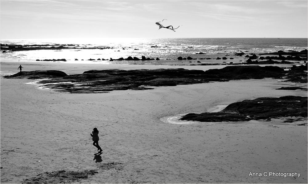La fille au cerf-volant # 2
