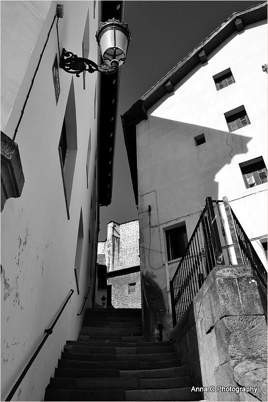La rue en escaliers