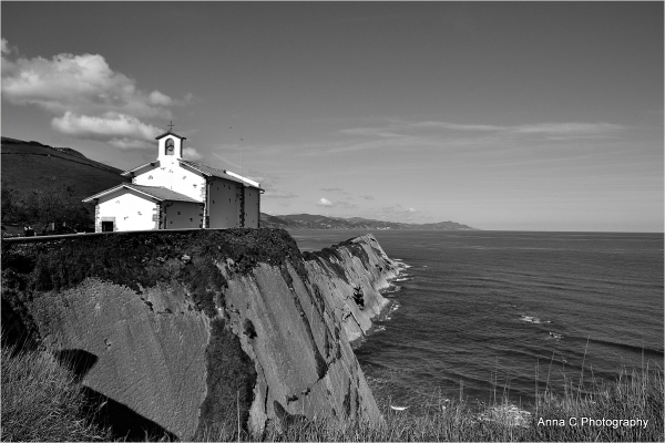 La chapelle haut perchée