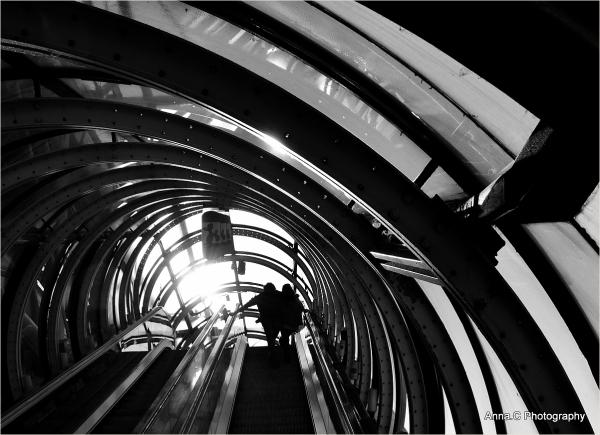 La montée dans le tube