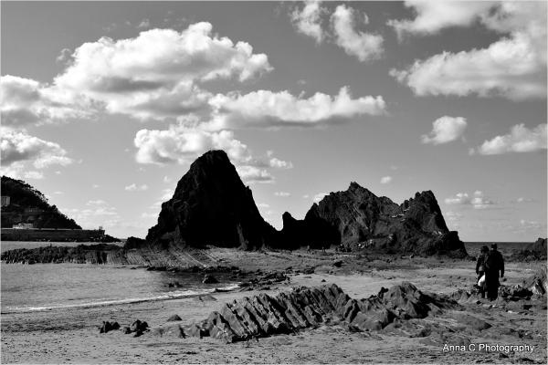 Les rochers de Saturraran