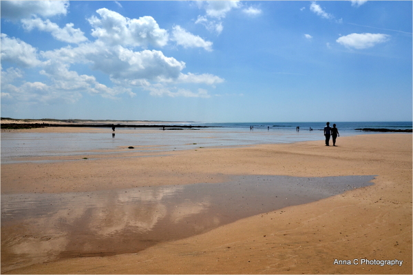 La plage aux amoureux