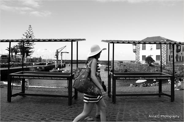 Les élégantes de Puerto Cruz