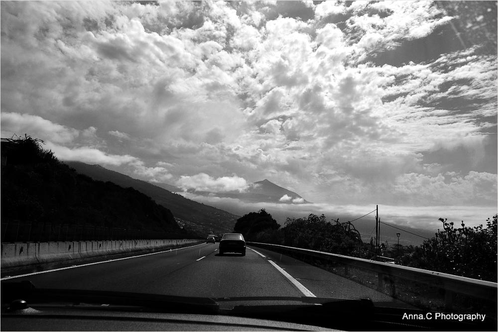 Sur la route du Teide