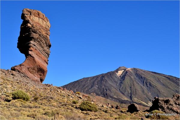 Pico del Teide  et Roque Cinchado
