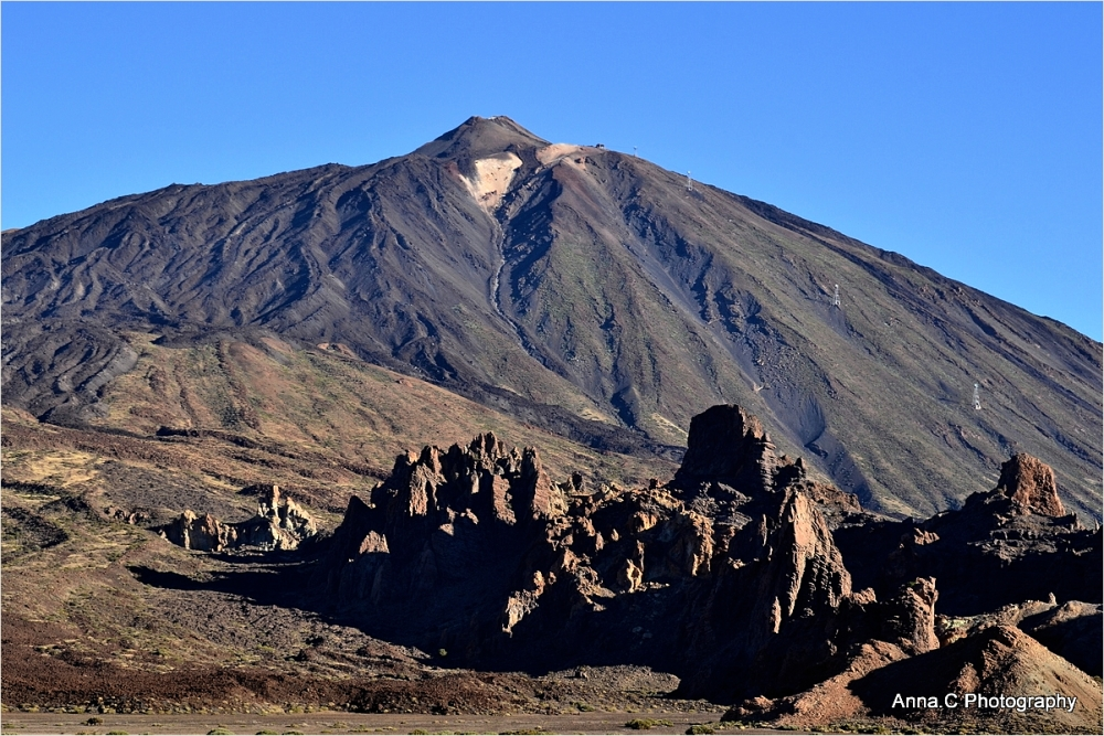 Roques Garcia et Teide