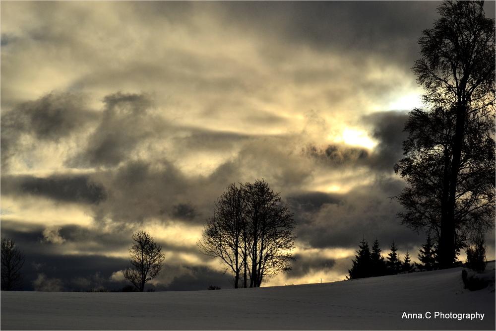 Sunset au Mont-Soleil